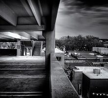 Parking Ramp Perspective by Bob Larson