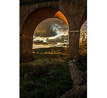 Renaissance arches Photographic Print
