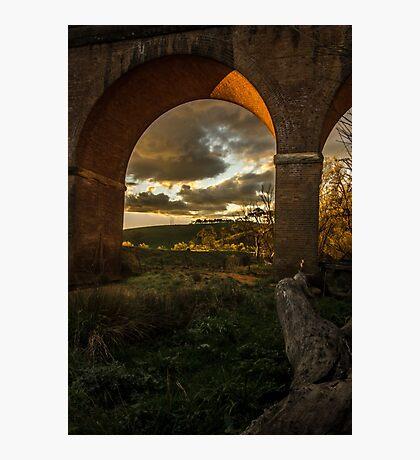 Renaissance arches Photographic Print