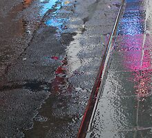 Reflections of Times Square 1 by Darren Spidell