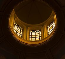 ceiling of the dome of the church by spetenfia