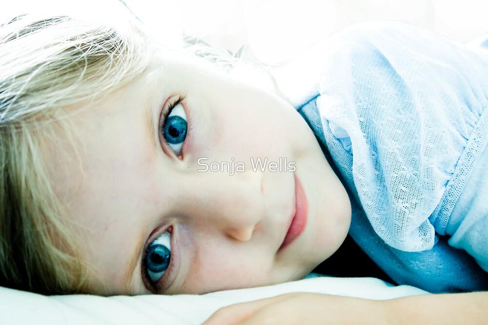 Blue-Eyed Angel by Sonja Wells