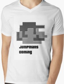 jumpman Mens V-Neck T-Shirt