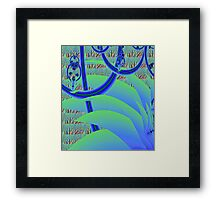 """Jungle Gym"" Framed Print"