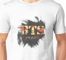 BTS Bangtan Black Ver Unisex T-Shirt