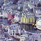 Alesund, Norway. by johnrf
