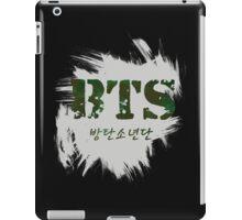 BTS Bangtan White Ver iPad Case/Skin