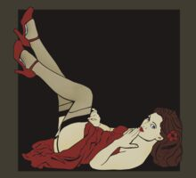 Pinup Girl 1 by merrypranxter
