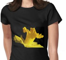 Daffodil Dancer Womens Fitted T-Shirt