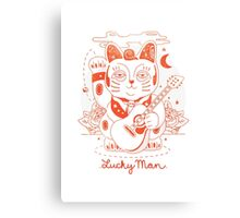 Lucky Man Canvas Print