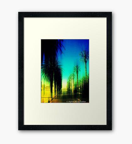 Boulevard of Broken Dreams Framed Print