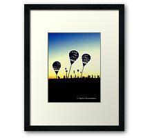 Lead Balloons Framed Print