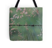 Weeds and Wire. Tote Bag