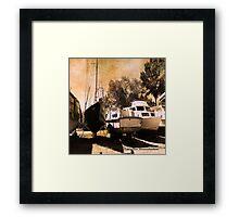 Old Boats Framed Print
