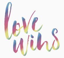 Love Wins! Baby Tee