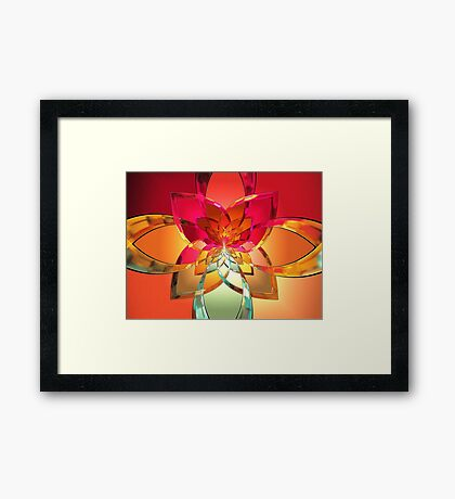 Portals with Colors from Tutorial #7  (UF0273) Framed Print