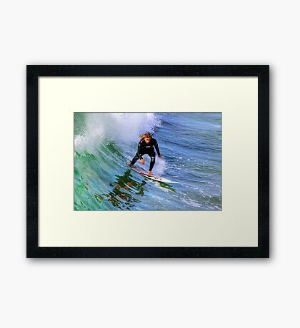 Just add water color Framed Print