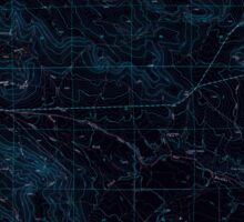 USGS Topo Map Oregon Virtue Flat 281974 1967 24000 Inverted Sticker
