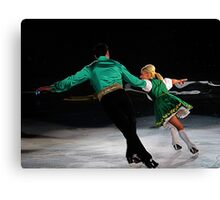 flying ice Canvas Print