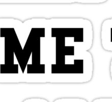 What a time to be alive - Black Text Sticker