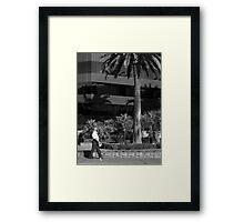 war Framed Print