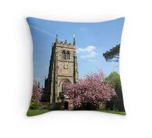 Staunton Harold Church Throw Pillow
