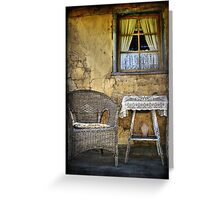 Ackerman's Cottage cameo ~ Hill End NSW Greeting Card