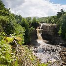 High Force Waterfall by mountainsandsky