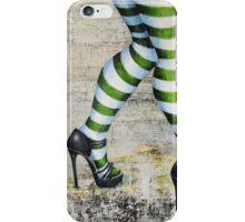 stripes'n'heels iPhone Case/Skin
