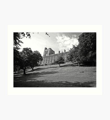 Bangor Uni. Art Print