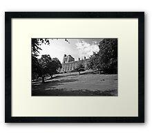 Bangor Uni. Framed Print