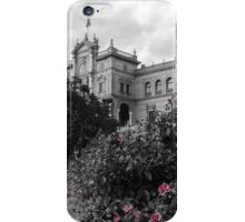 Plaza de Espana, Seville, colorsplash iPhone Case/Skin