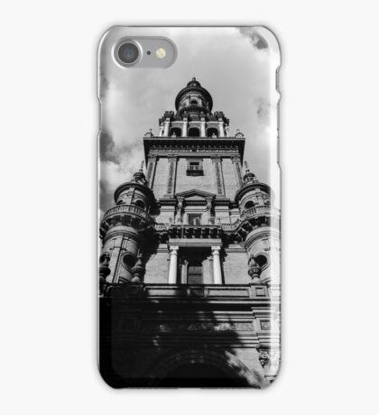 Plaza de Espana, Seville, Spain  iPhone Case/Skin