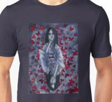Red Butterflies Unisex T-Shirt