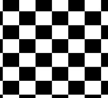 Chequered Flag Checkered Racing Car NASCAR Winner Bedspread Duvet Phone Case by deanworld