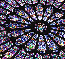 Rose Window II - NOTRE DAME DE PARIS by Jamie Alexander