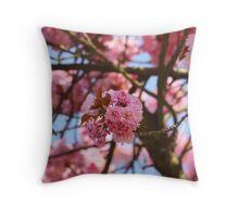 CherryTree Throw Pillow