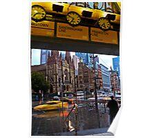 Meet me under the Clocks            Melbourne Poster