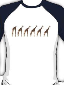 Giraffe Evolution T-Shirt
