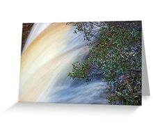 Knyvet Falls Greeting Card