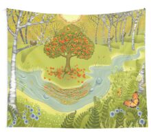 Magic forest Wall Tapestry