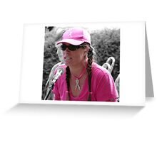 Woman of Substance Greeting Card