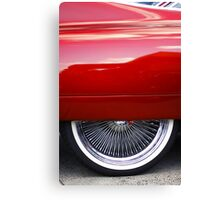 Fender skirt Canvas Print