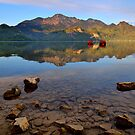 reflections in the morning by Daidalos