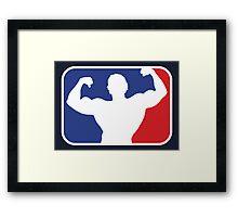 Major League Bodybuilding Framed Print