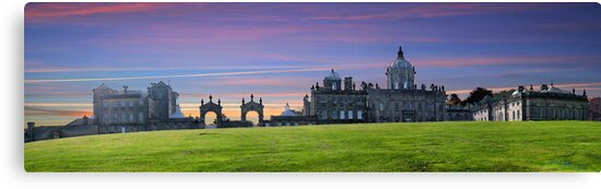 Castle Howard ~ Panorama,  HDR ~ by Sandra Cockayne