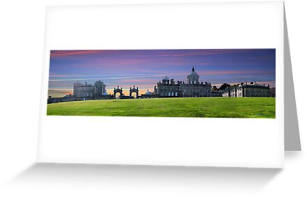 Castle Howard ~ Panorama,  HDR ~ by Sandra Cockayne