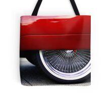 59 spinner skirt Tote Bag