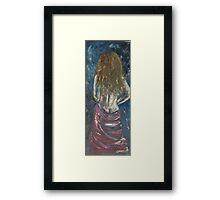 Lady nude Framed Print