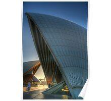 Aria #2 - Angles - Sydney Opera House, Sydney Australia Poster